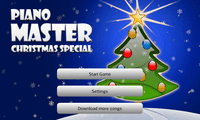 Video Game: Piano Master Christmas Special