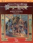RPG Item: DL05: Dragons of Mystery