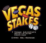 Video Game: Vegas Stakes
