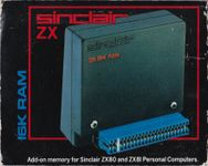 Video Game Hardware: Sinclair ZX 16K RAM