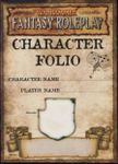 RPG Item: Character Folio