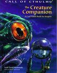 RPG Item: The Creature Companion