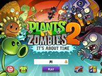 Video Game: Plants Vs. Zombies 2: It's About Time