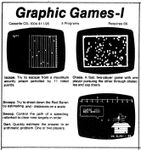 Video Game Compilation: Graphics Games - 1, CS-1004