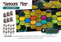 Board Game: Cthulhu Wars: Six to Eight Player Shaggai Map