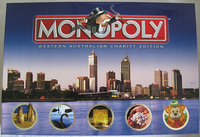 Board Game: Monopoly: Western Australian Charity Edition