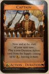 Board Game: Dominion: Captain Promo Card