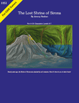 RPG Item: Dungeon Module HS1: The Lost Shrine of Sirona