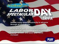 Video Game: Labor Day Quiz