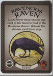 Board Game: Fantastiqa: Ravenous Raven Promo Cards