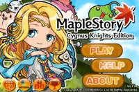 Video Game: MapleStory: Cygnus Knights Edition