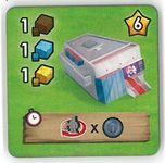 Board Game: Little Town: Palais des festivals Promo Tile