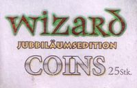 Board Game Accessory: Wizard: Coins