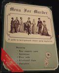 Board Game: Menu for Murder