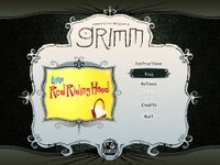 Video Game: American McGee's Grimm: Episode 2 – Little Red Riding Hood