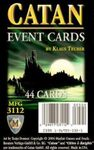 Board Game: Catan: Event Cards