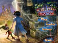 Video Game: Weird Park: Scary Tales