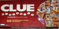 Board Game: Clue Mysteries