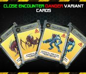 Board Game: Galaxy Defenders: Close Encounter Danger Variant Cards