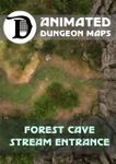 RPG Item: Forest Cave Stream Entrance
