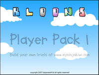 Video Game: Bloons Player Pack 1