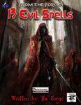 RPG Item: 13 Evil Spells