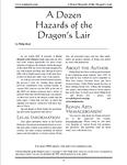 RPG Item: A Dozen Hazards of the Dragon's Lair