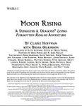 RPG Item: WATE3-1: Moon Rising