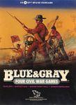 Board Game: Blue & Gray: Four American Civil War Battles