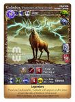 Board Game: Mage Wars: Galador, Protector of Straywood Promo Card