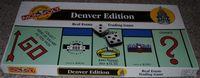 Board Game: Monopoly: Denver Edition
