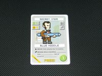 Board Game: Pixel Lincoln: Blue Noodle Promo Card