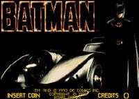 Video Game: Batman (1990/Arcade)