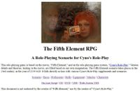 RPG Item: The Fifth Element