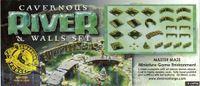 RPG Item: Cavernous River and Walls Set
