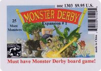 Board Game: Monster Derby Expansion I