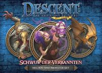 Board Game: Descent: Journeys in the Dark (Second Edition) – Oath of the Outcast