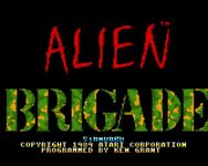 Video Game: Alien Brigade