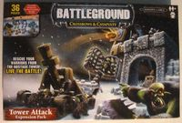 Board Game: Battleground: Crossbows & Catapults – Tower Attack Expansion Pack