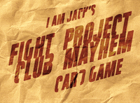 Board Game: Fight Club: Project Mayhem