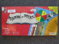 Board Game: Reading for Detail