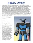 RPG Item: Gamba Robo!
