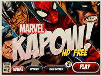Video Game: Marvel KAPOW!