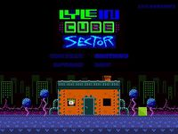 Video Game: Lyle in Cube Sector