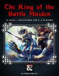 RPG Item: The Ring of the Battle Maiden