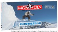 Board Game: Monopoly: Snowboarding Edition