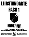 Board Game: Leibstandarte Pack 1: Blitzkrieg