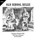 RPG Item: Dungeon Module HS4: The Forge of Ilmarinen