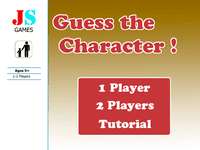 Video Game: Guess the Character