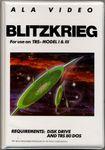 Video Game: Blitzkrieg (TRS-80)